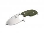 Real Steel Mini 127II Green, Neckknife