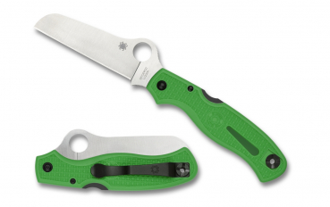 Spyderco C89FPGR Atlantic Salt, Green LC200N