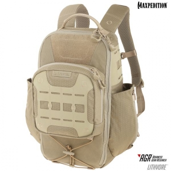 Maxpedition AGR LITHVORE Backpack, Tan (Sand)