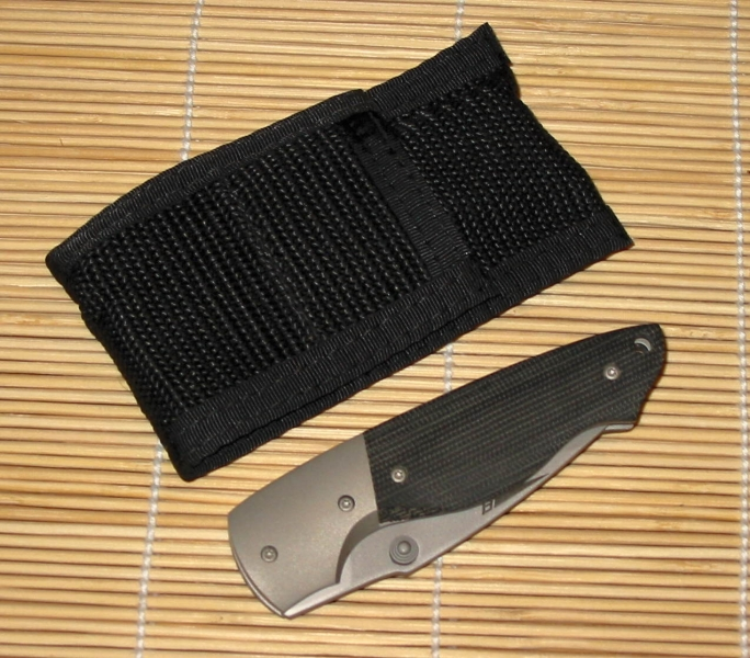 Front Line Alpha Series Pro-Hunter Linerlock, black