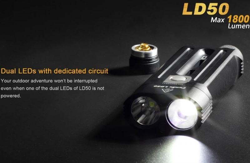 Fenix LD50 Cree XM-L2 U2 LED Flashlight