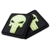 3-D Rubber Patches PUNISHER-GITD