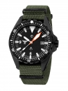 KHS Missiontimer 3 C1 Index with Nato Band Olive, KHS.MTI.NO